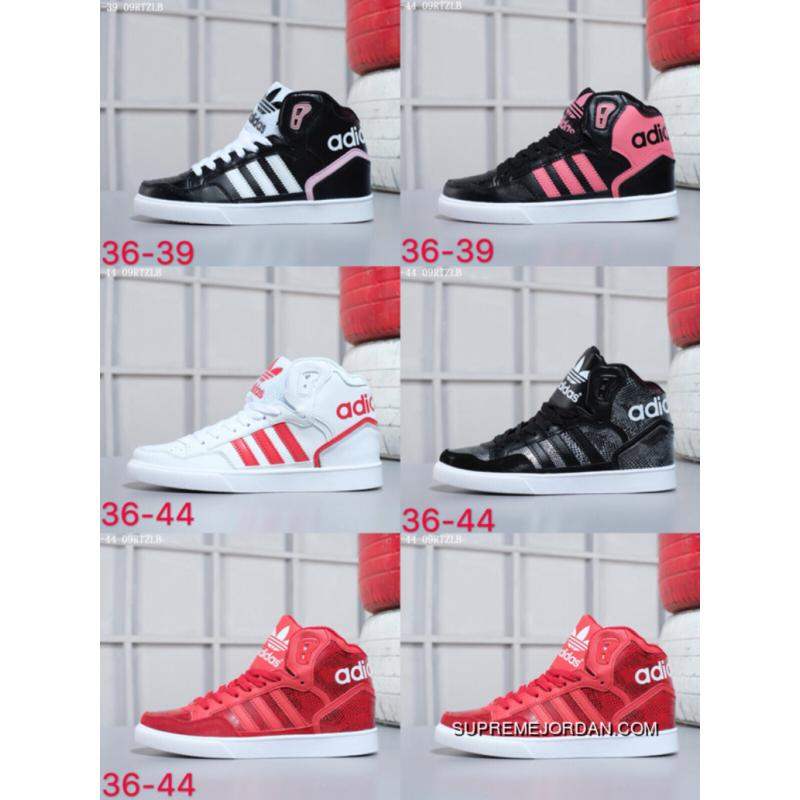 3c98cb566 Five Colors Adidas Originals Ext Abal 2018 Spring New Women High Casual  Sneaker AC 8587 Size ...